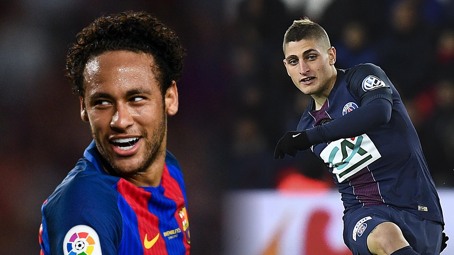 Neymar, Verratti split