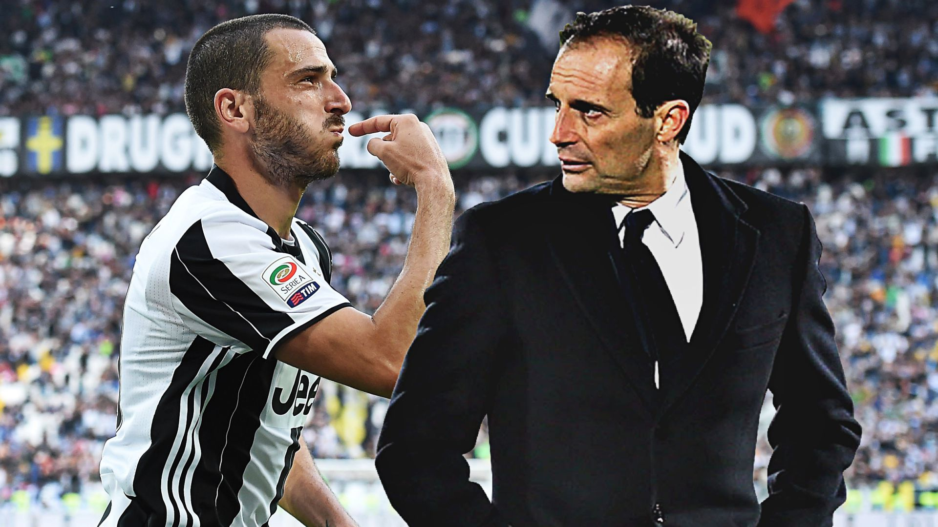 CLAMOROSO! Allegri furibondo con Bonucci: tribuna contro il Porto per il difensore