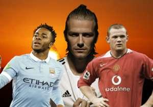 David Beckham, Raheem Sterling en de 15 duurste Engelse spelers in de geschiedenis. Goal stelt ze aan je voor!