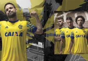 Flamengo inovou em seu novo uniforme que relembra as primeiras cores do clube carioca