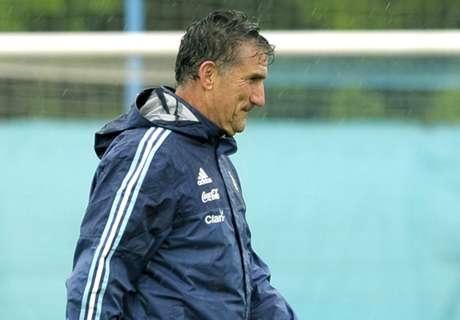 Argentinien entlässt Nationaltrainer