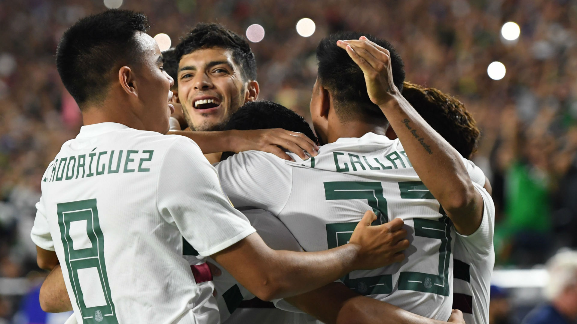 How will Mexico line up against Panama?