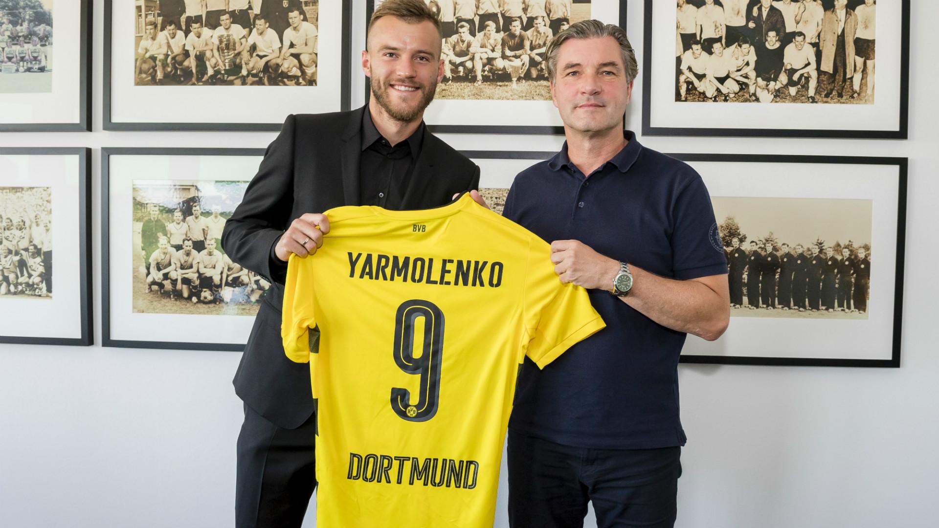 Andriy Yarmolenko Borussia Dortmund 28082017