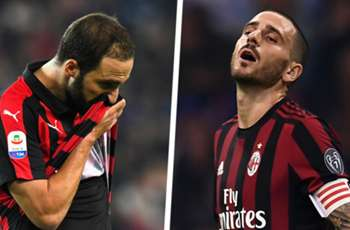 AC Milan a big club? Higuain and Bonucci both quitting sends out terrible message