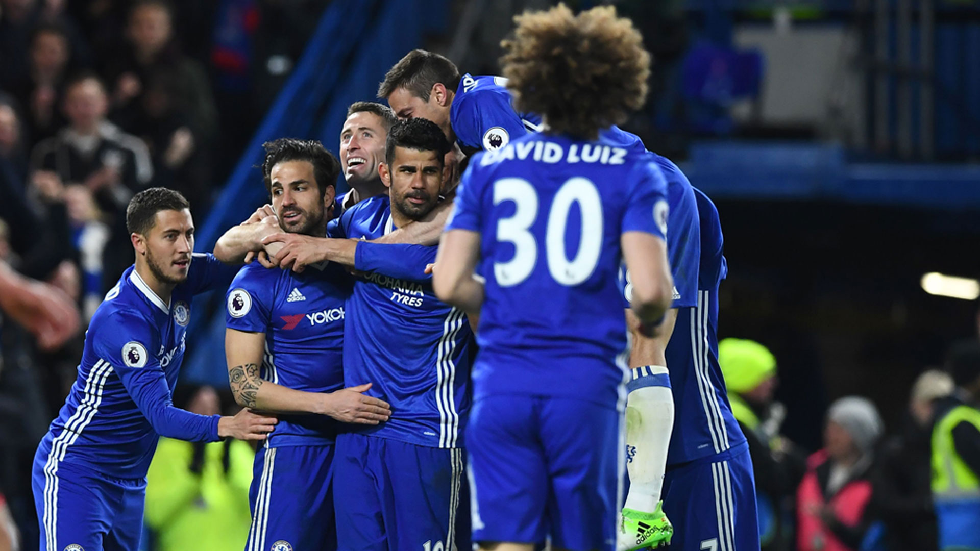 Chelsea beat Southampton 4-2 in English Premier League