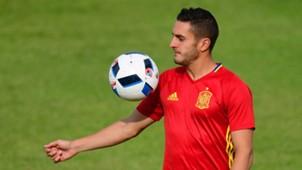 Koke Spain training Euro 2016
