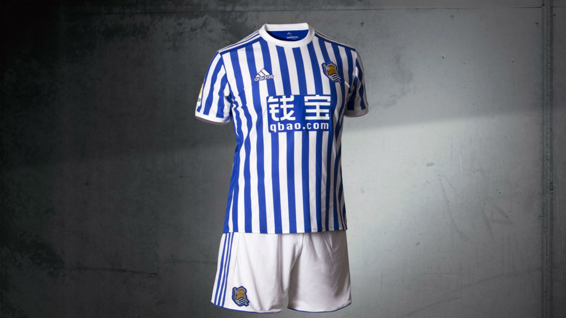 uniforme real sociedad 2017-18