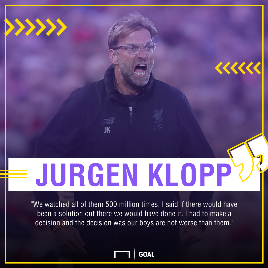 Klopp watched Van Dijk alternatives '500 million times' and wasn't convinced