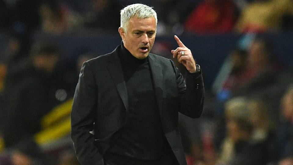 Josè Mourinho Manchester United coach