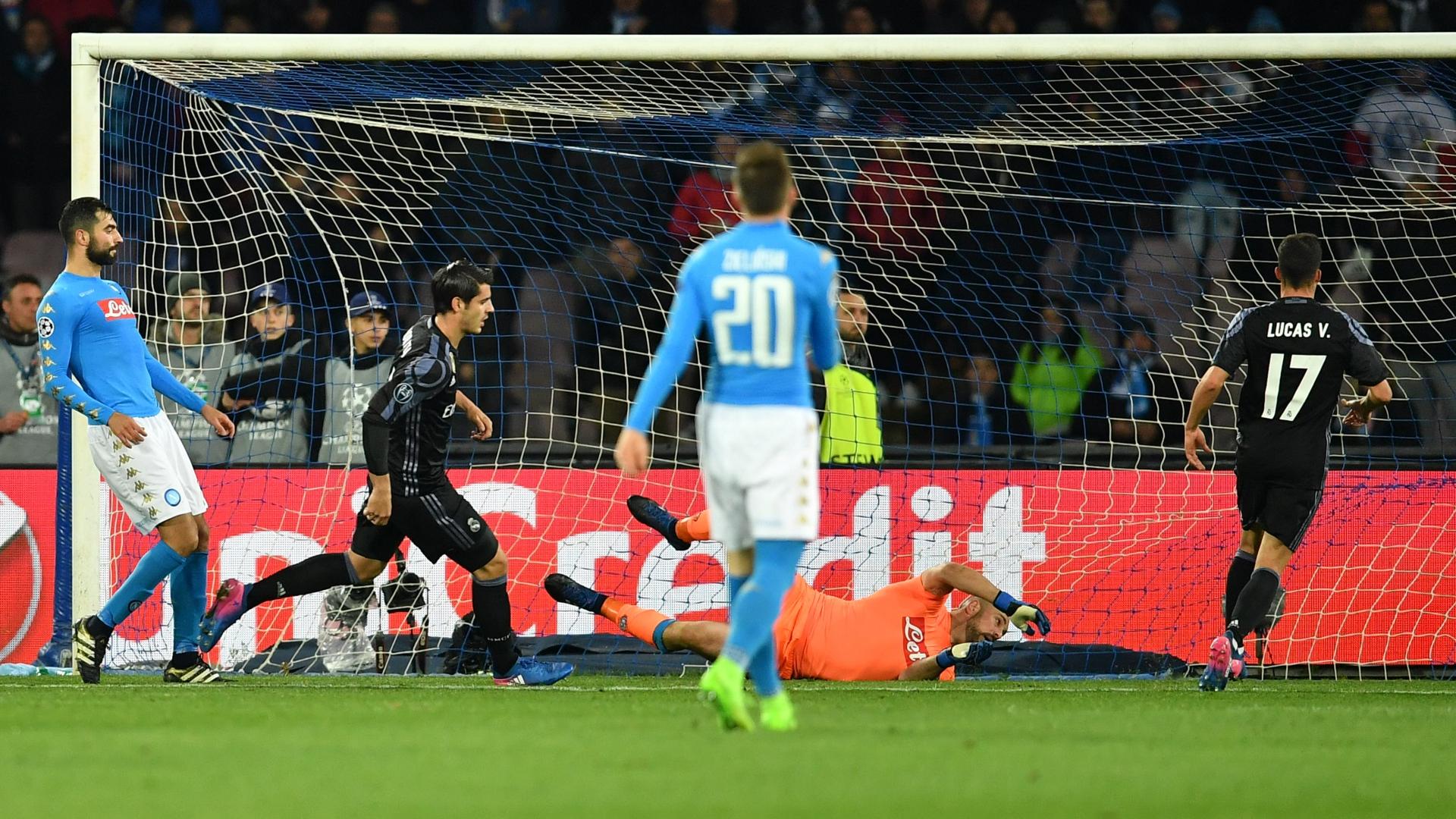 Alvaro Morata Napoli Real Madrid
