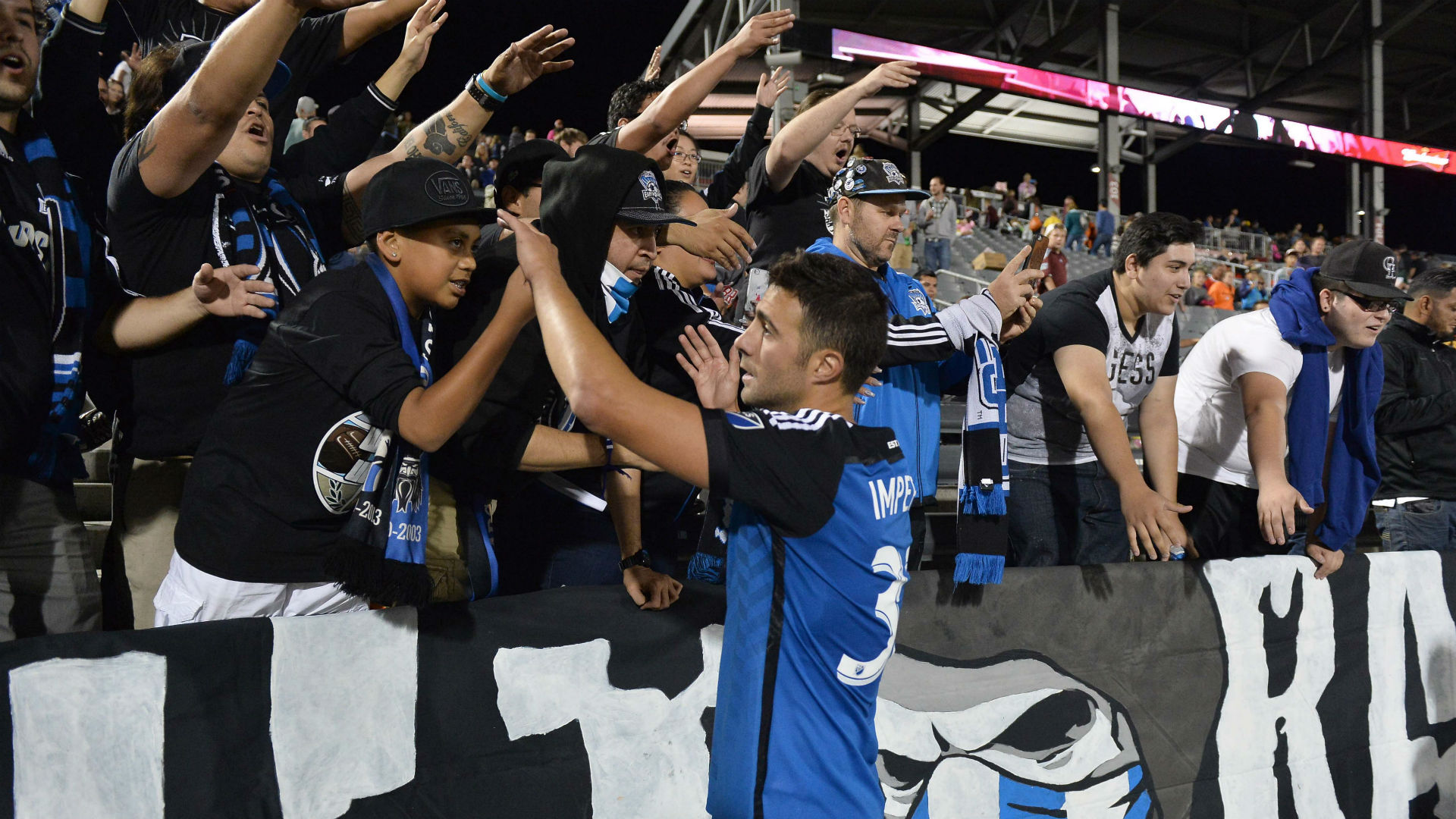 Andres Imperiale San Jose Earthquakes MLS