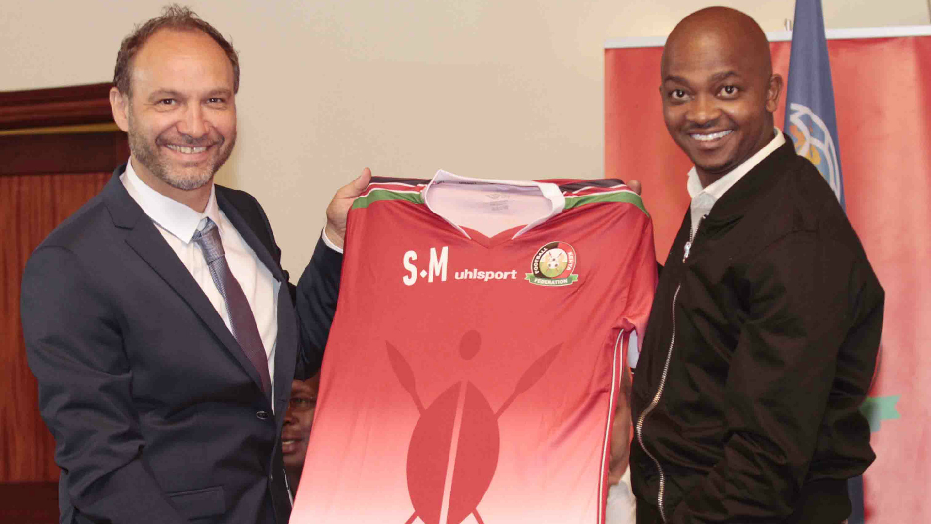 'Kudos to Nick Mwendwa!' – Kenyans' react as Harambee Stars arrive in style for Afcon