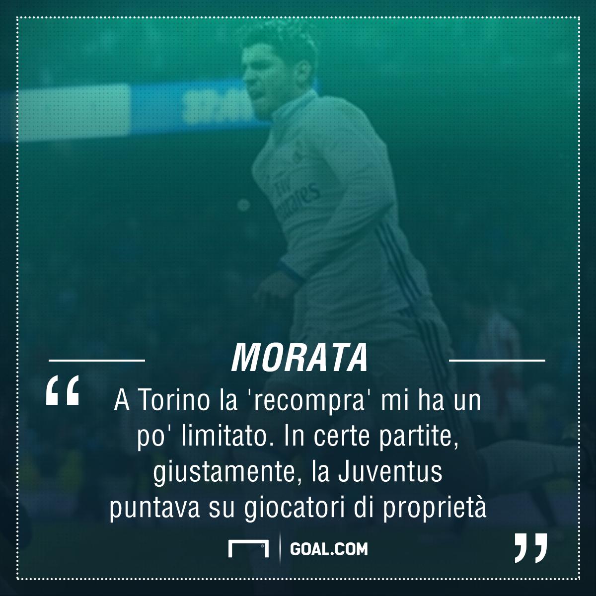 Morata lancia messaggi di amore alla Juventus!