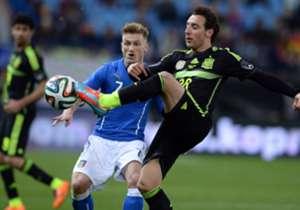 AMISTOSO 2014 | España 1-0 Italia | El último triunfo español ante Italia se logró en el Calderón, en un encuentro de preparación para el Mundial de Brasil. Pedro logró el solitario 1-0.