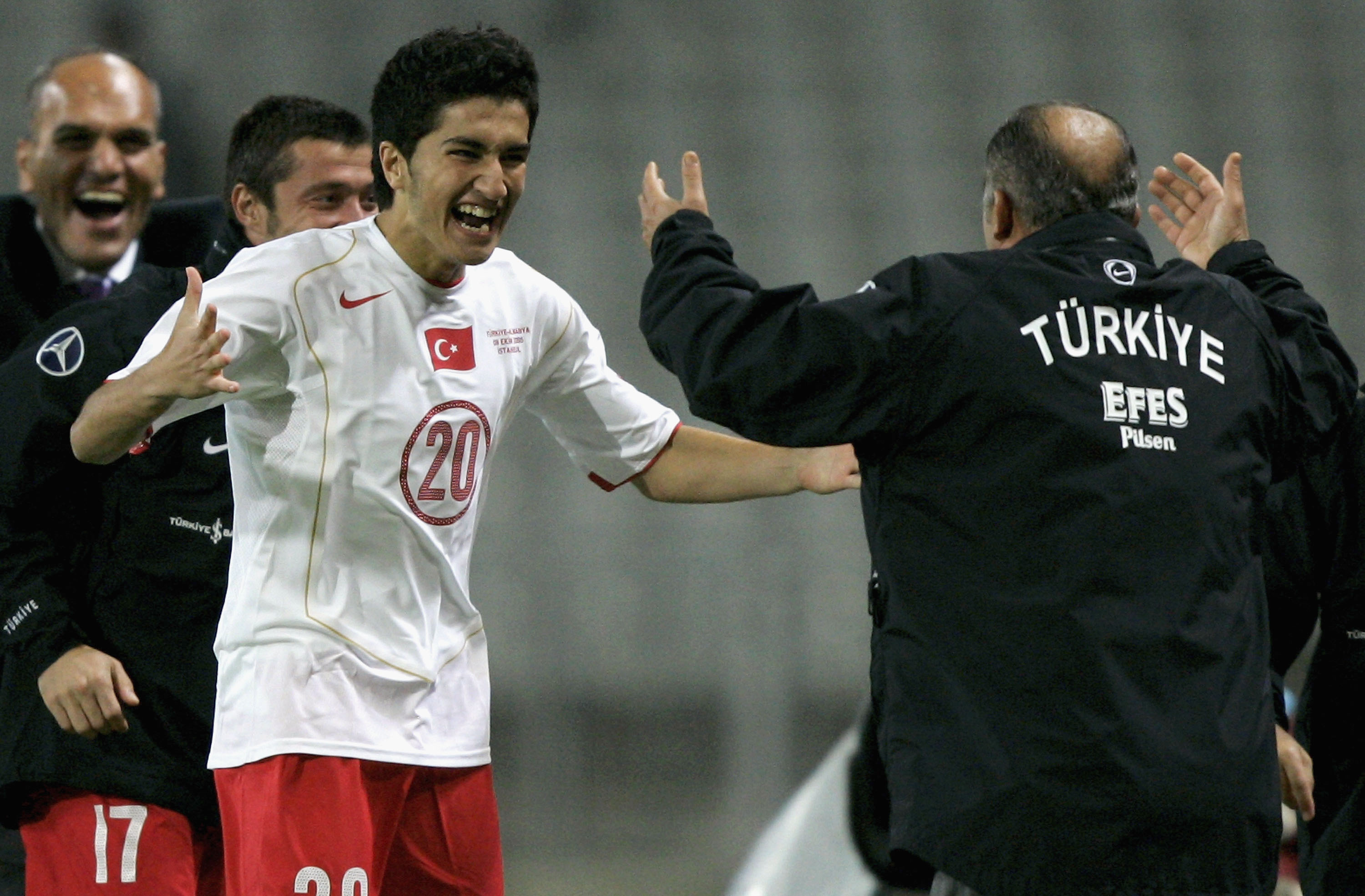 Nuri Sahin Turkey 2005