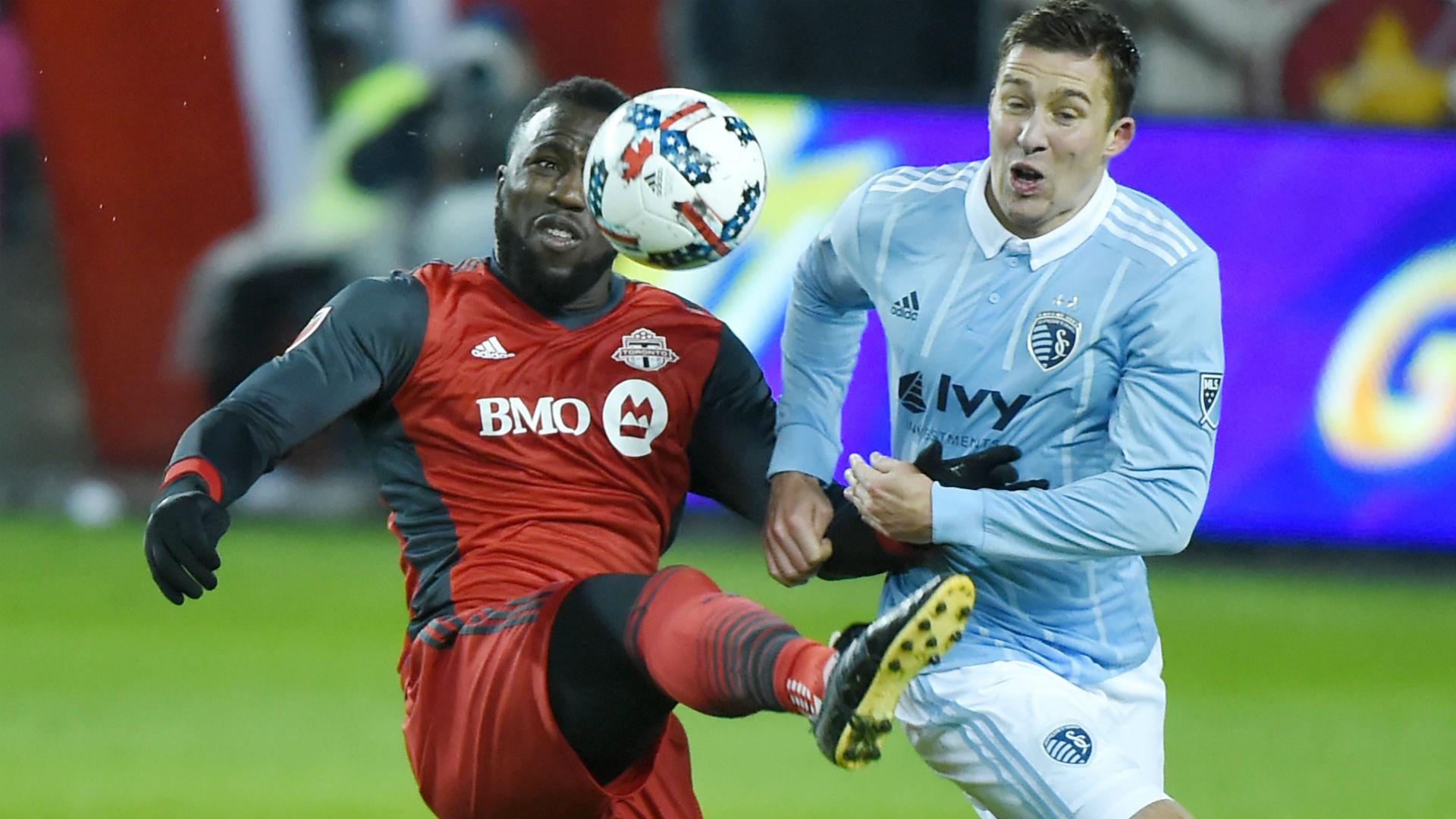 Jozy Altidore Matt Besler Toronto FC vs. Sporting Kansas City