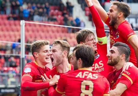 AZ overtuigend langs machteloos FC Utrecht