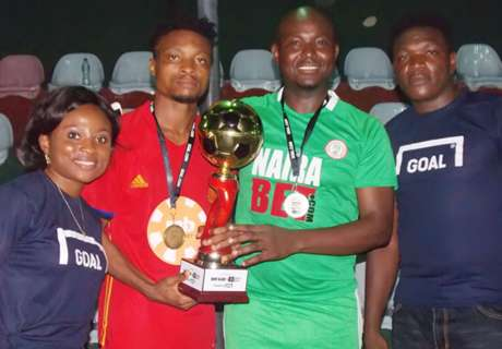 Merrybet lift Akin Alabi football tourney
