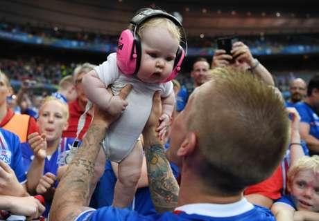 Iceland welcomes 'England babies'