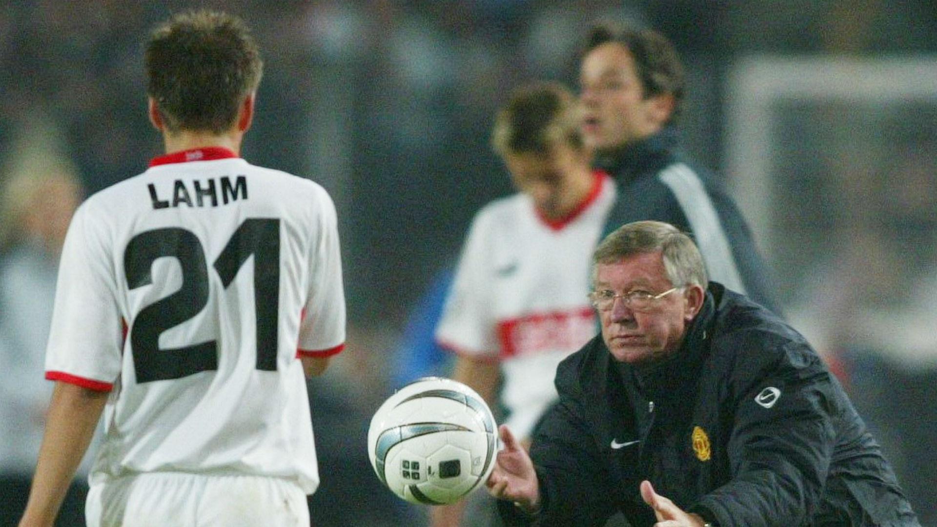 Philipp Lahm Stuttgart Alex Ferguson Manchester United