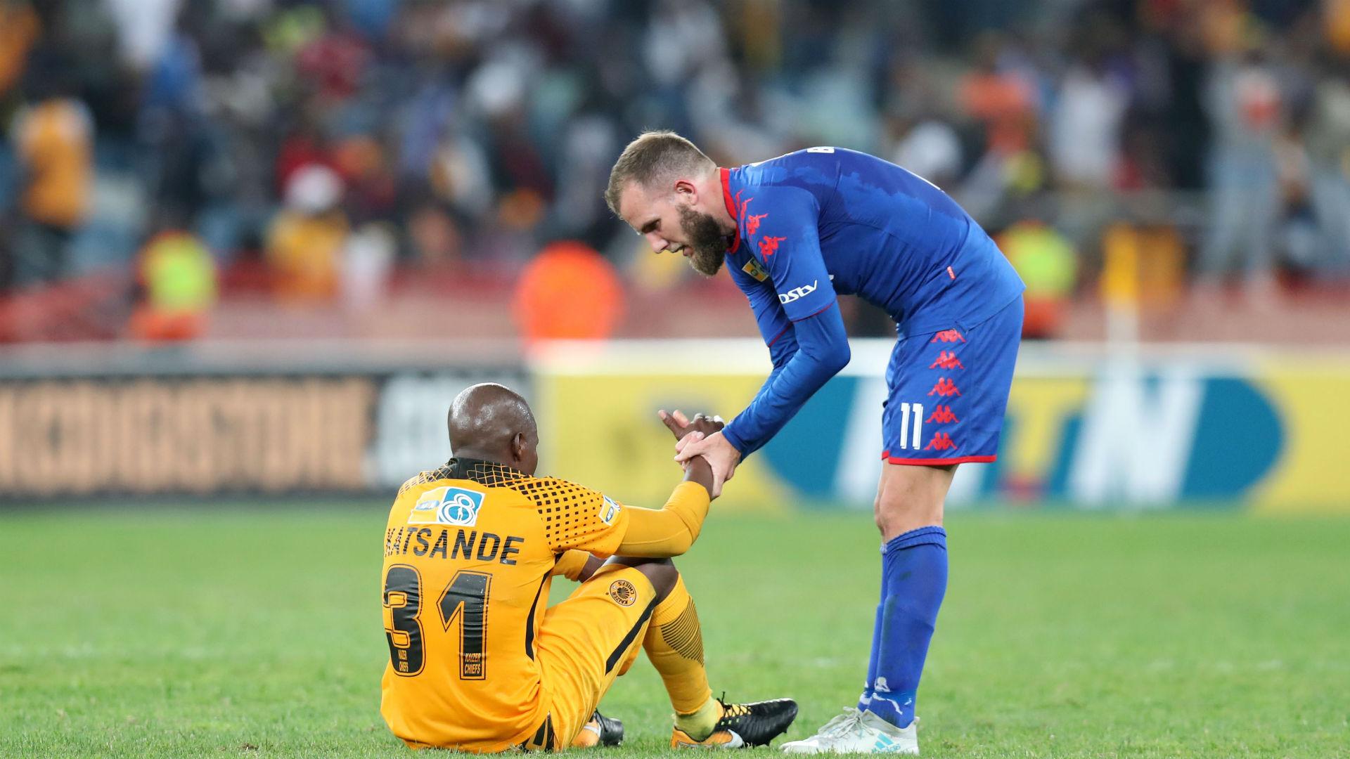 Kaizer Chiefs,Willard Katsande & SuperSport United, Jeremy Brockie