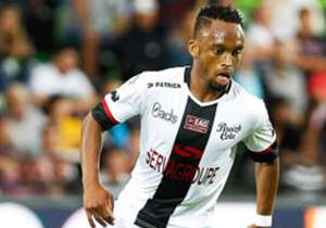 Lebogang Phiri - Guingamp (France) | The central midfielder featured for his side as they lost 1-0 to Caen in a French Ligue 1 game on Saturday. The midfielder was introduced in the 75th minute.