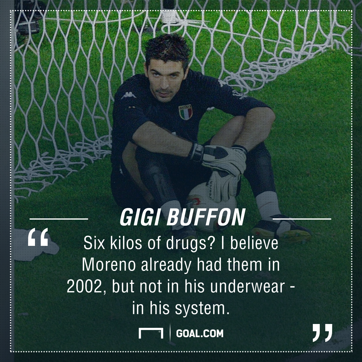 Gianluigi Buffon Byron Moreno PS