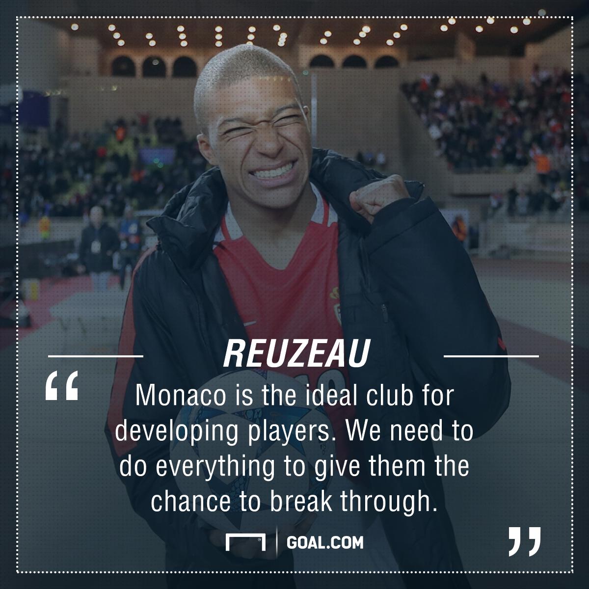Kylian Mbappe Monaco PS
