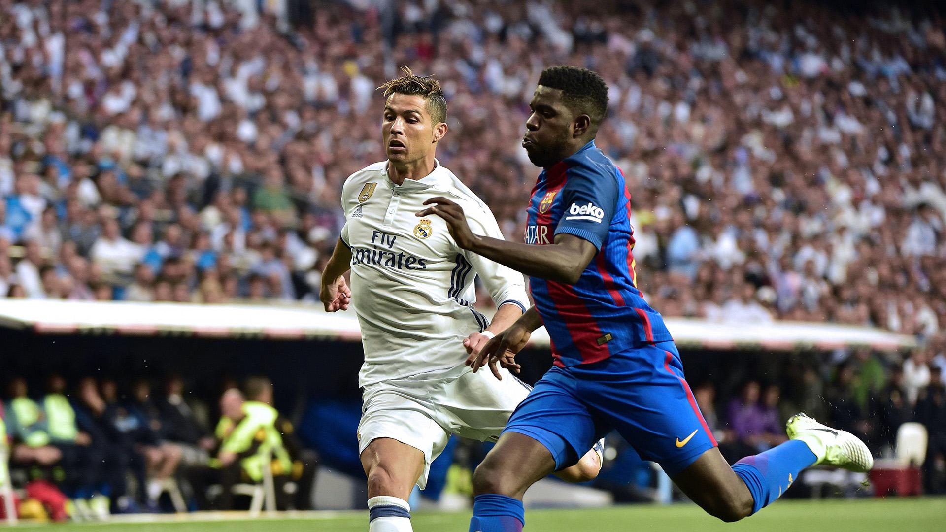 Cristiano Ronaldo Samuel Umtiti