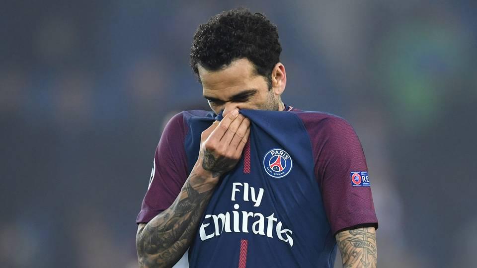 Dani Alves Paris Saint-Germain