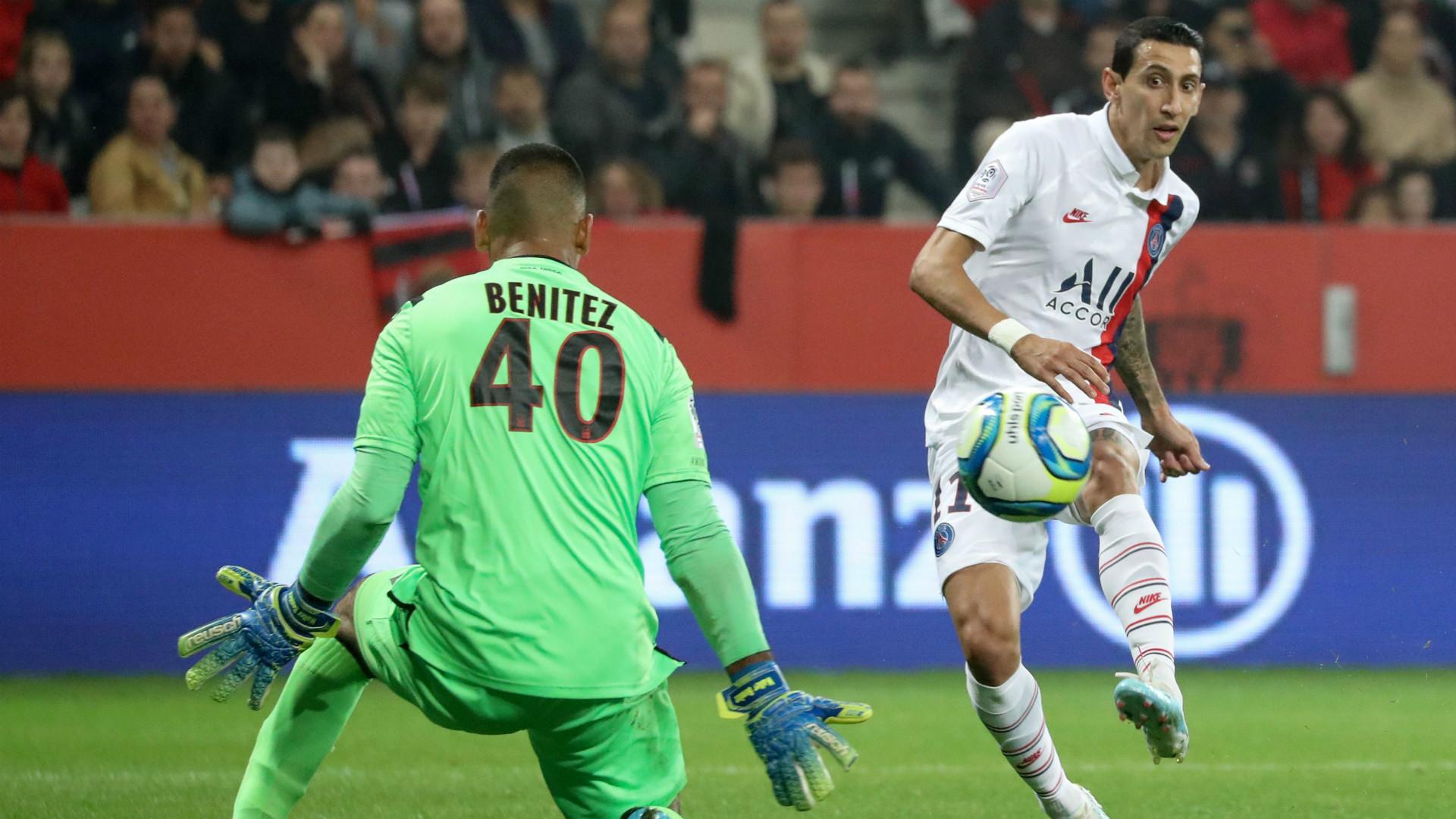 Nice-PSG (1-4) - Porté par un Di Maria en feu, le PSG enchaîne