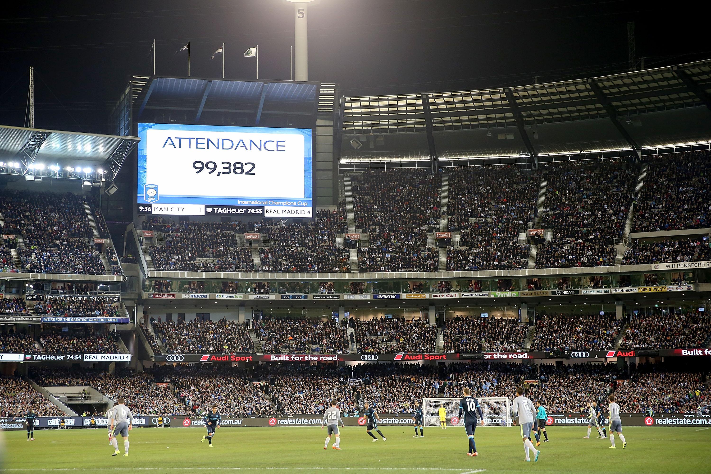 MCG Real Madrid Manchester City 24072015