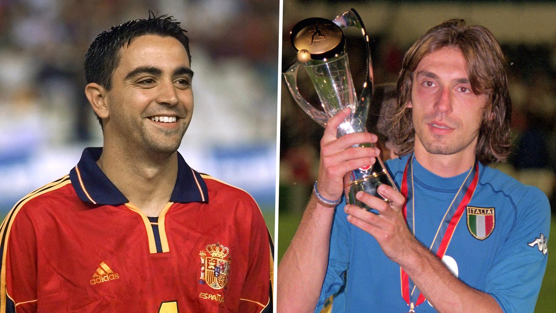 Pirlo in, Xavi out : l'équipe type de l'Euro Espoirs toutes éditions confondues
