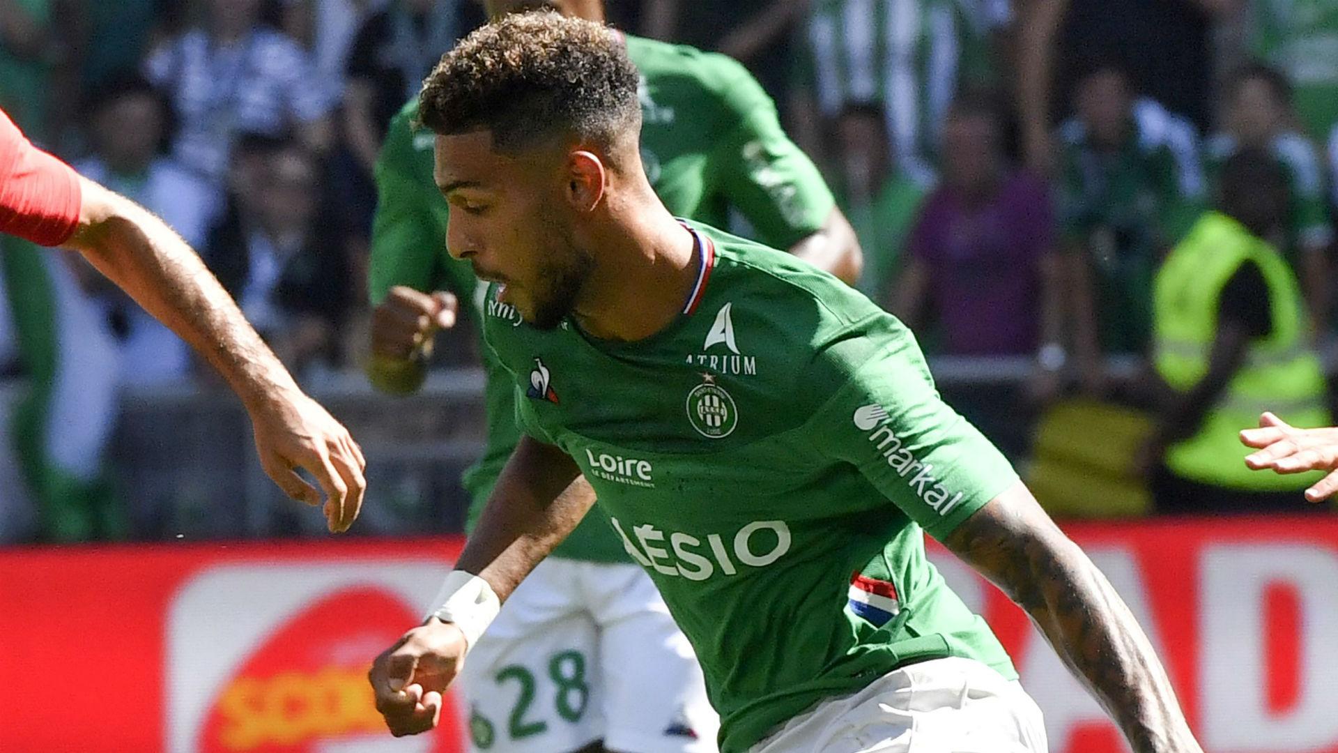 Bouanga hails Saint-Etienne after thrashing Nice