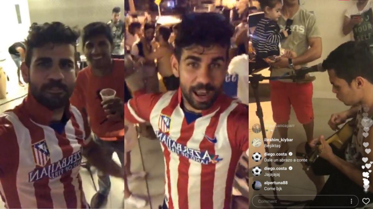 Diego Costa Instagram Live