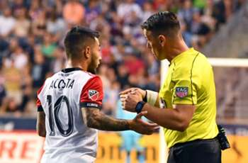 Red card shown in MLS, then rescinded due to honest opponent