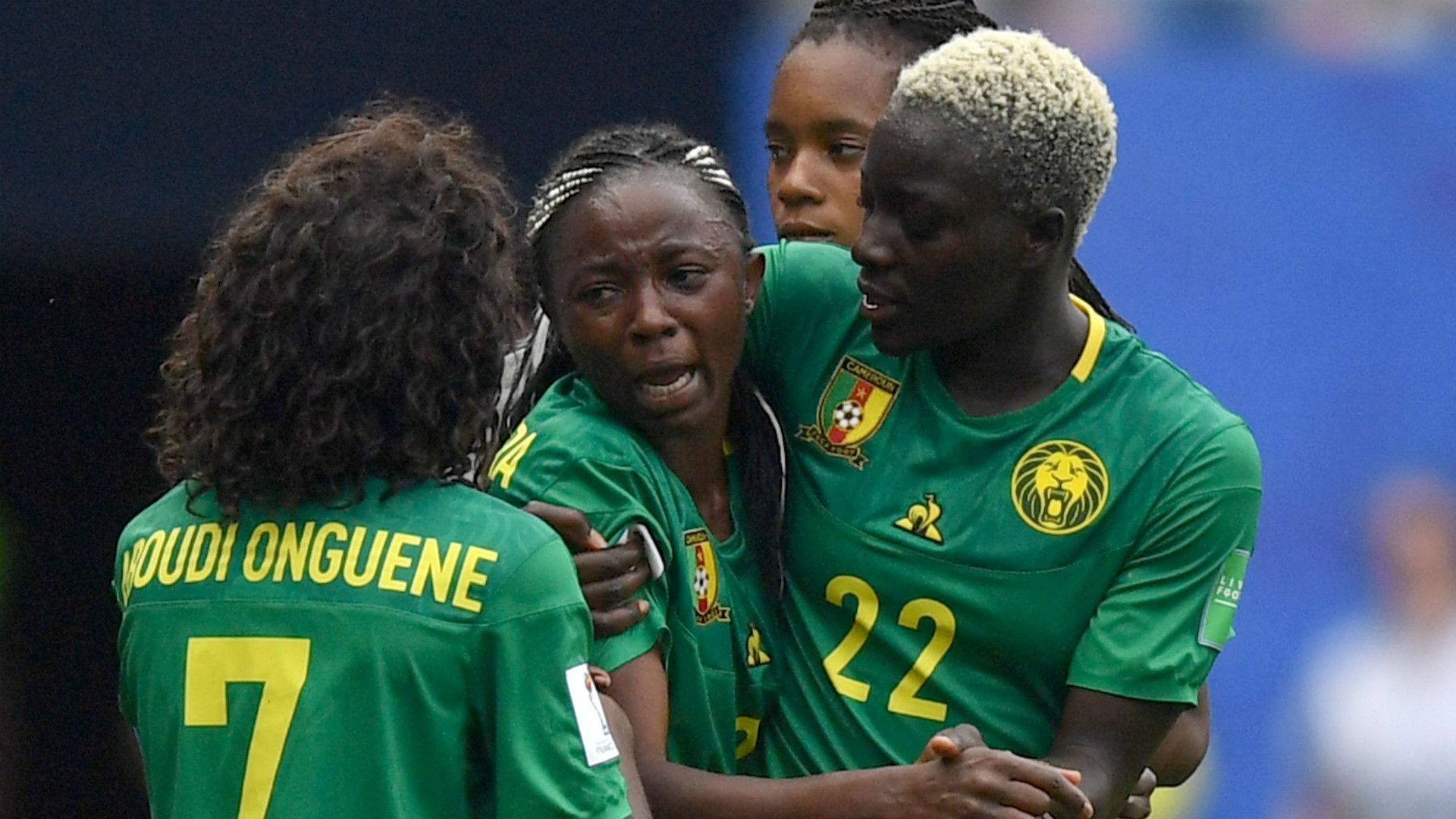 Ajara Nchout: Valerenga striker the heroine as Cameroon beat Cote d'Ivoire