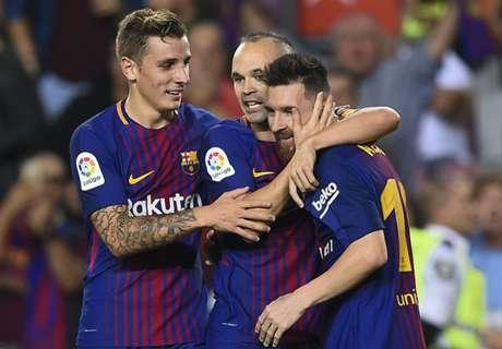 Barcelona Tundukkan Malaga