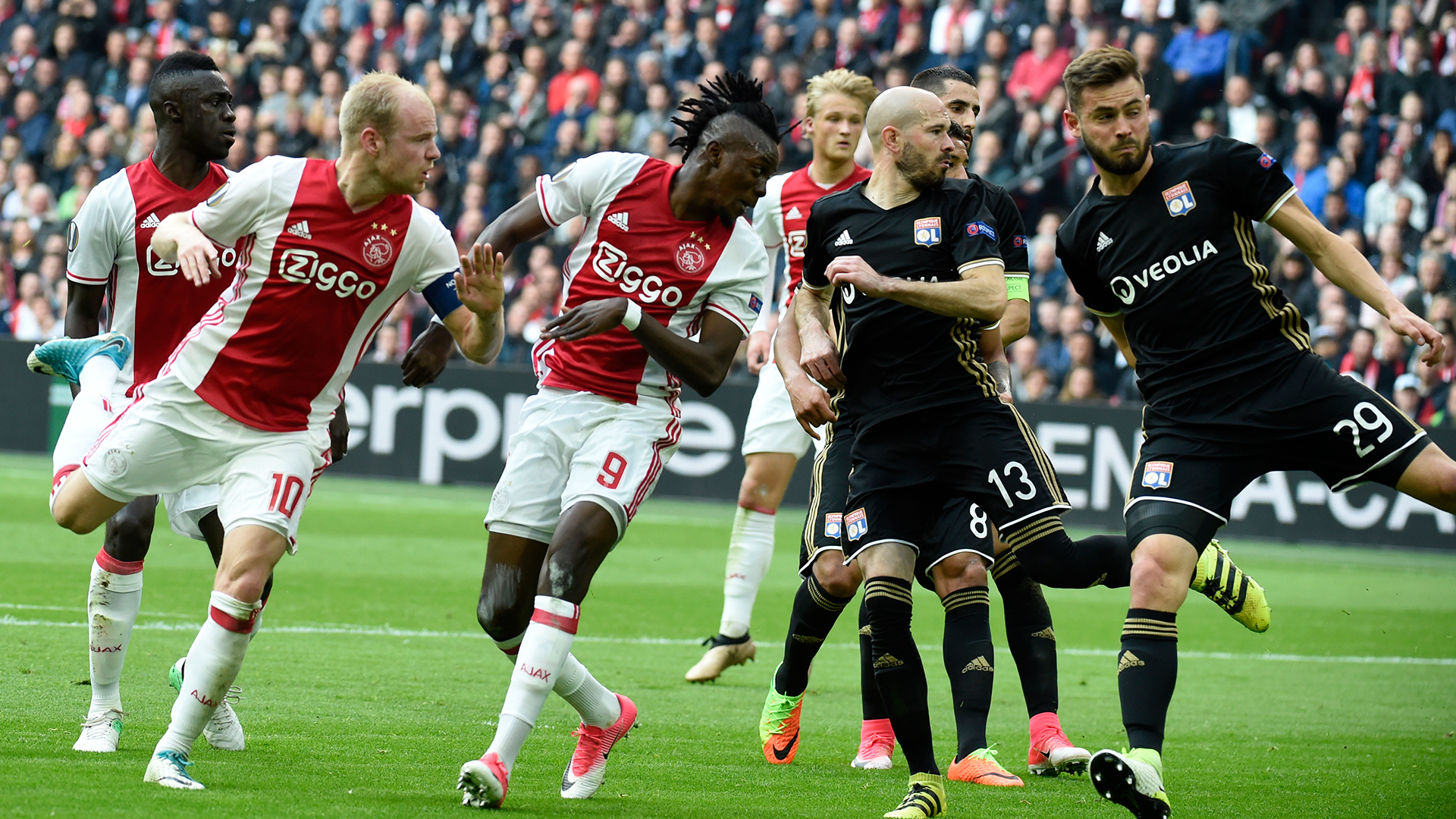 Bertrand Traore Ajax Lyon Europa League