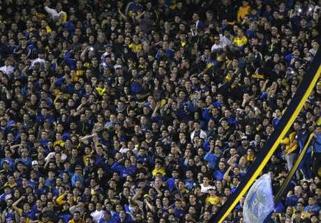 La Bombonera ensayó el Himno para alentar a Argentina