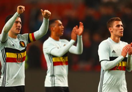 Hazard: Belgium play like Chelsea