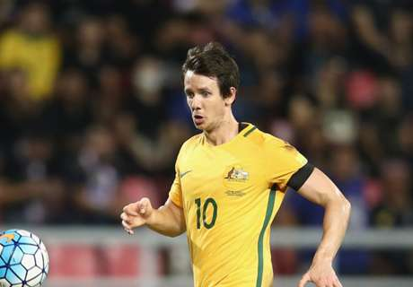 Kruse 'proud' of 50 Socceroos caps