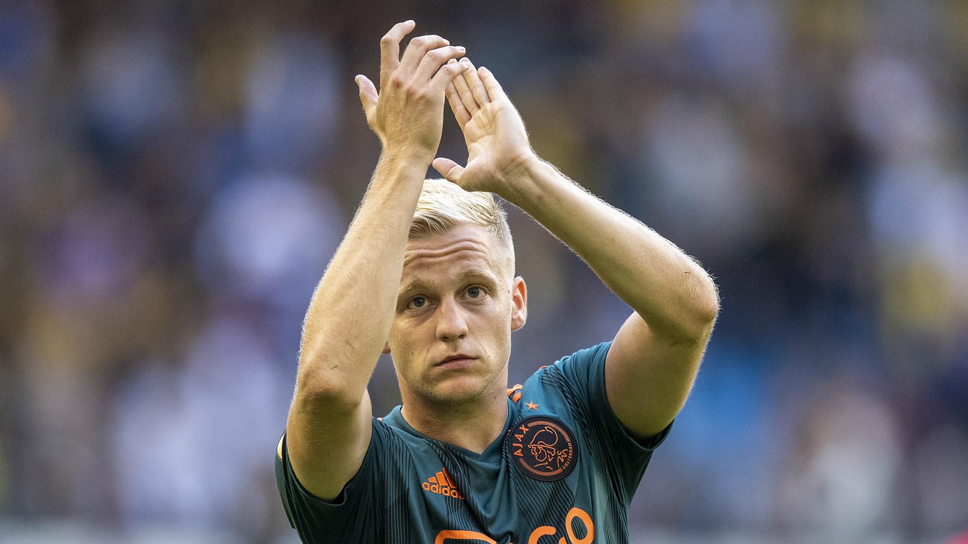 "Ajax, Van de Beek "": Il y a des chances que je reste"""