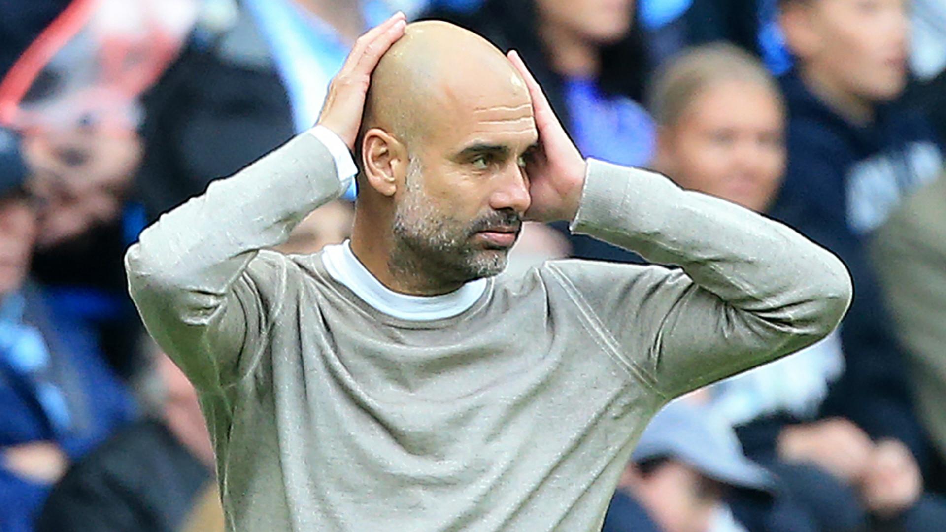 """Guardiola après la défaite de Manchester City : """"Un jour sans"""""""