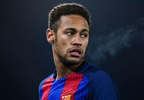Neymar shows off new green boots