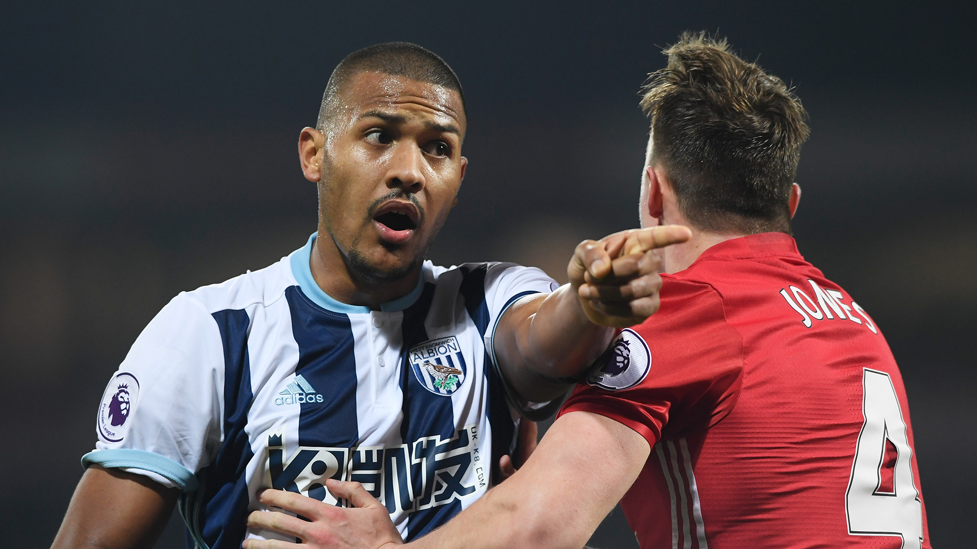Salomon Rondon West Brom