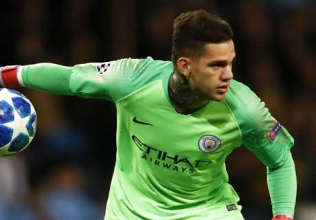 Ederson: City players to blame for Lyon loss