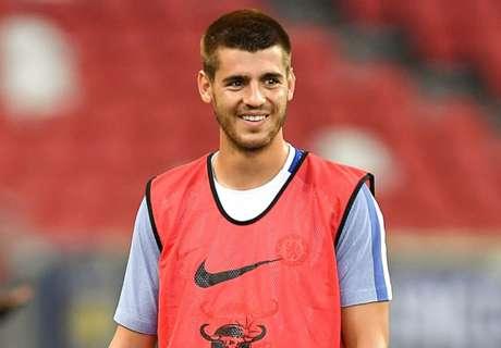 Chelsea reveal Morata shirt number