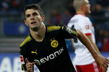 Pulisic on target as Dortmund beat Hamburg