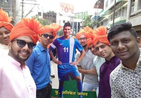 Ganesh Chaturthi celebrations feature Aniket Jadhav